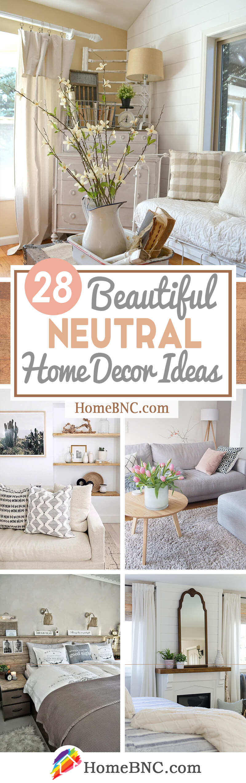Neutral Home Decor Ideas