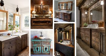 Rustic Bathroom Vanity Designs