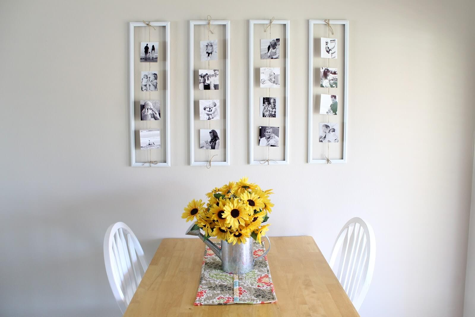 Photo Display Ideas to Frame Shorts
