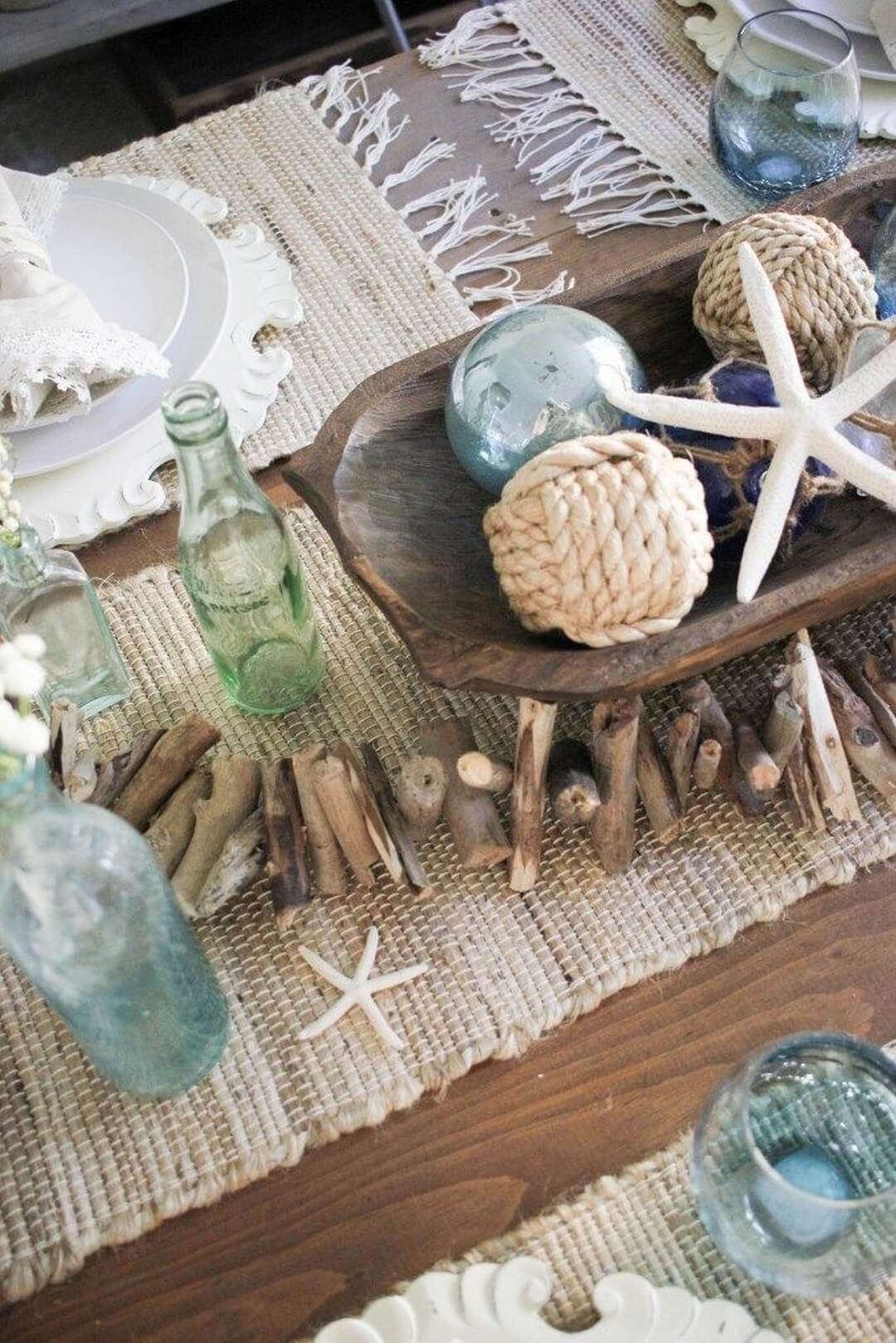 Table Decor for Your Coastal Farmhouse Kitchen