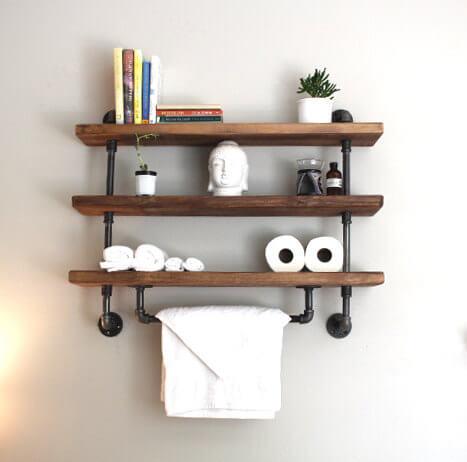 Reclaimed Wood USA Shelf