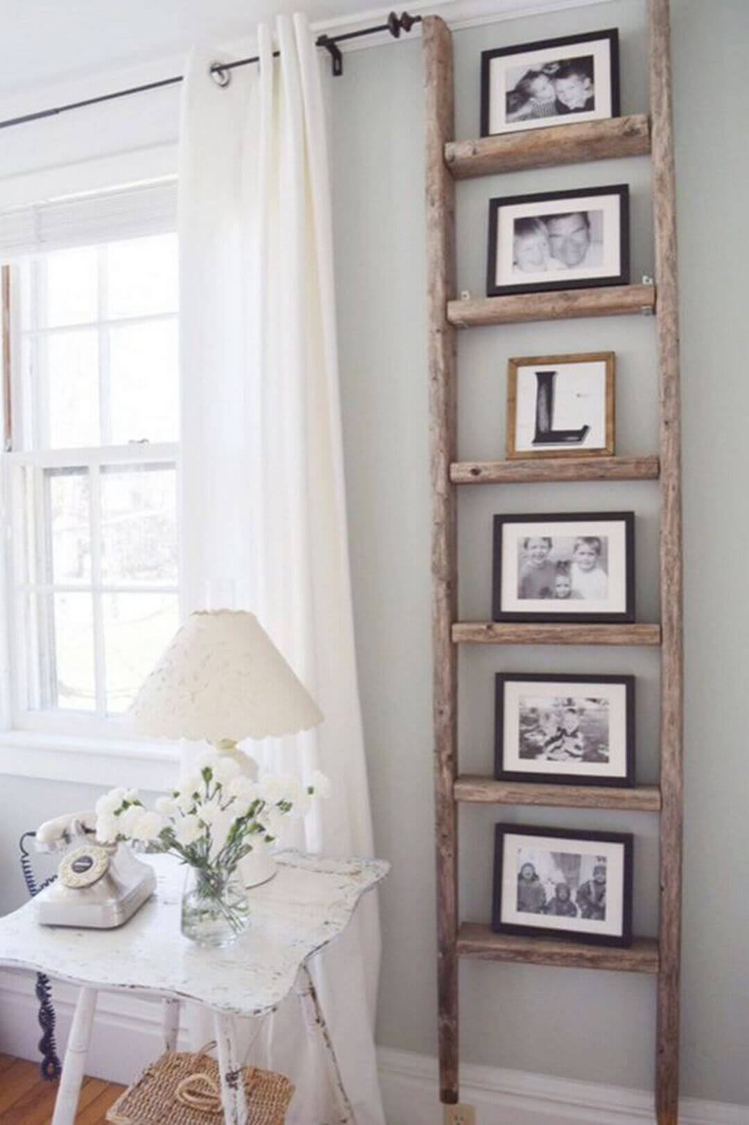 Climbing the Ladder photo display Ideas