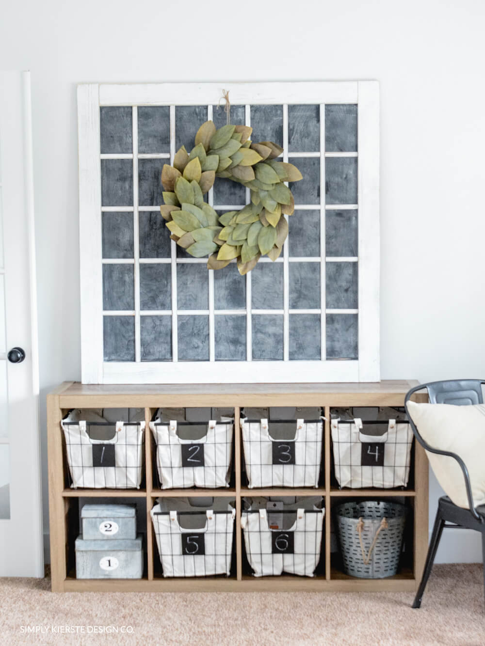 Evenly Divided Neat Storage Baskets