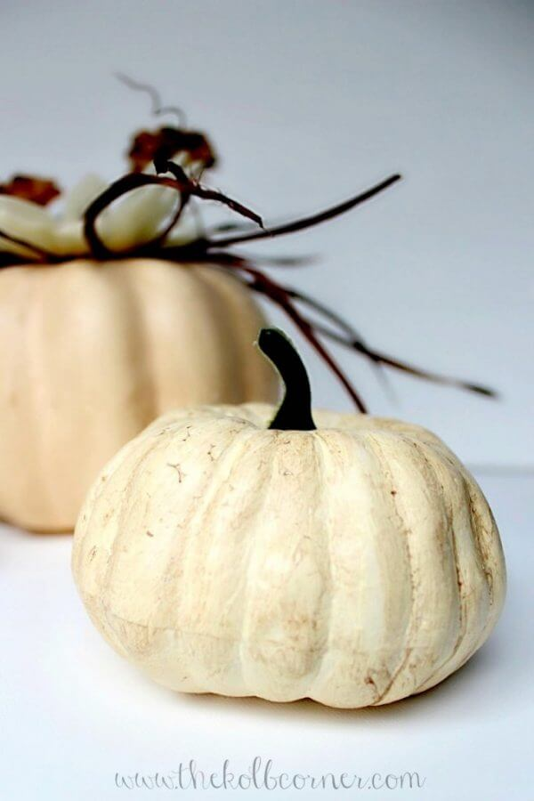 Dollar Store Pumpkins to Spice Up Autumn
