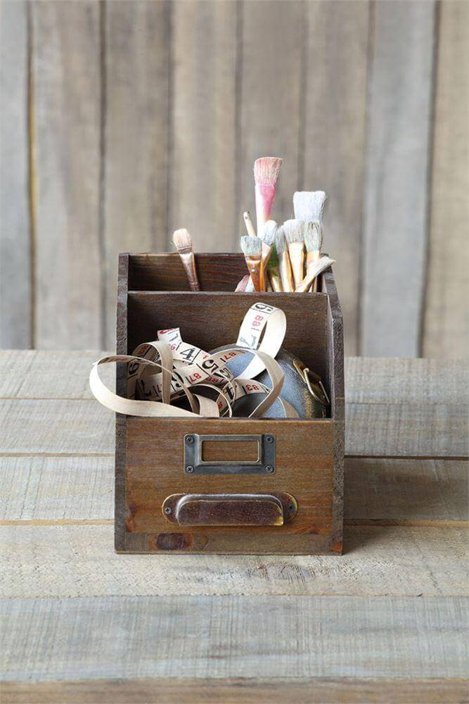 Upcycled Card And Paper Holders