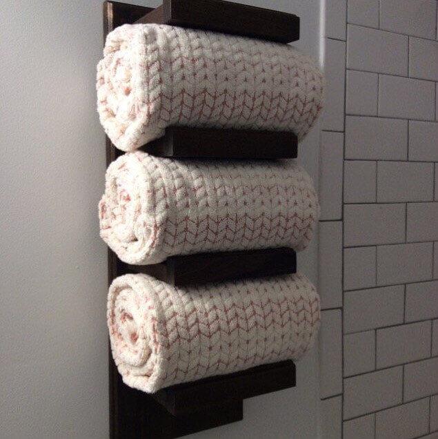 Tin Barn Creations Towel Rack