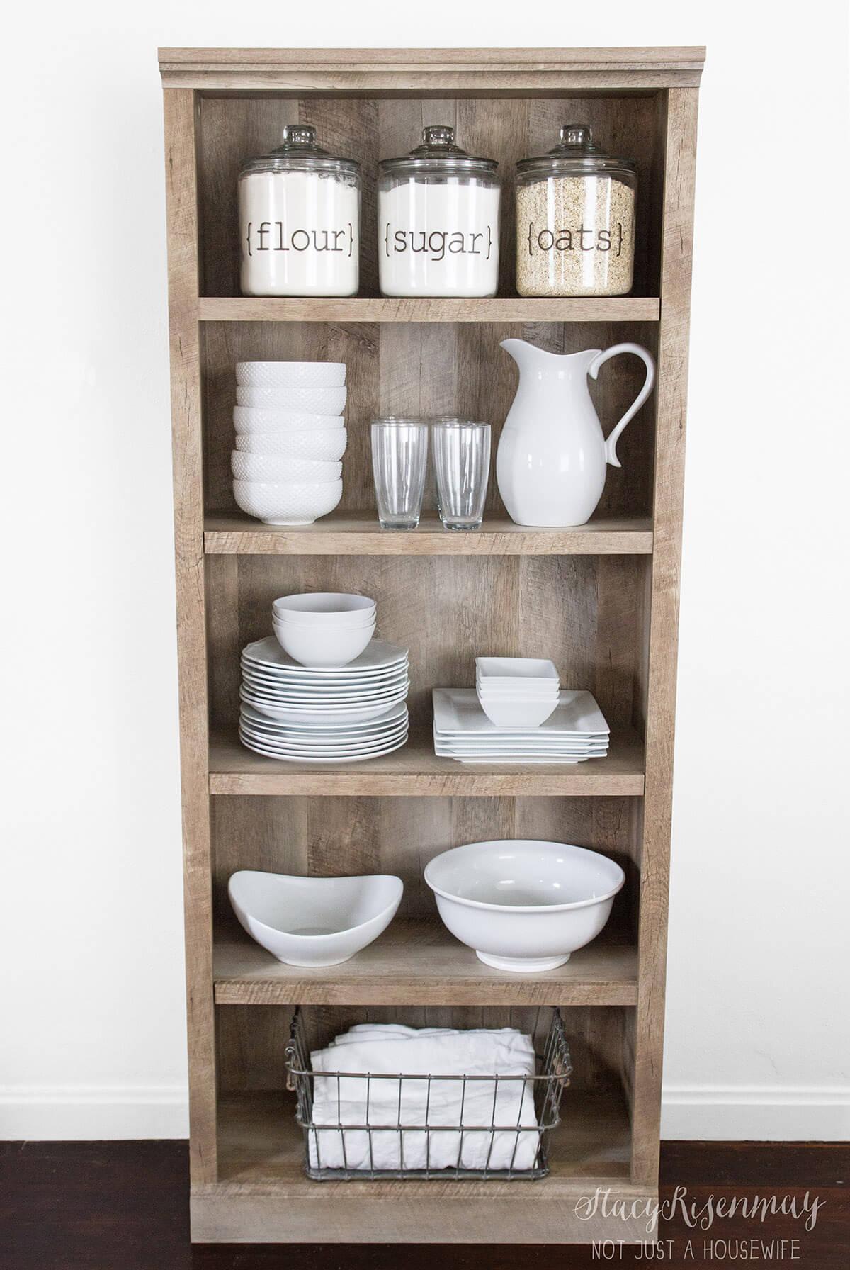 Simple Yet Elegant Kitchen Cupboard