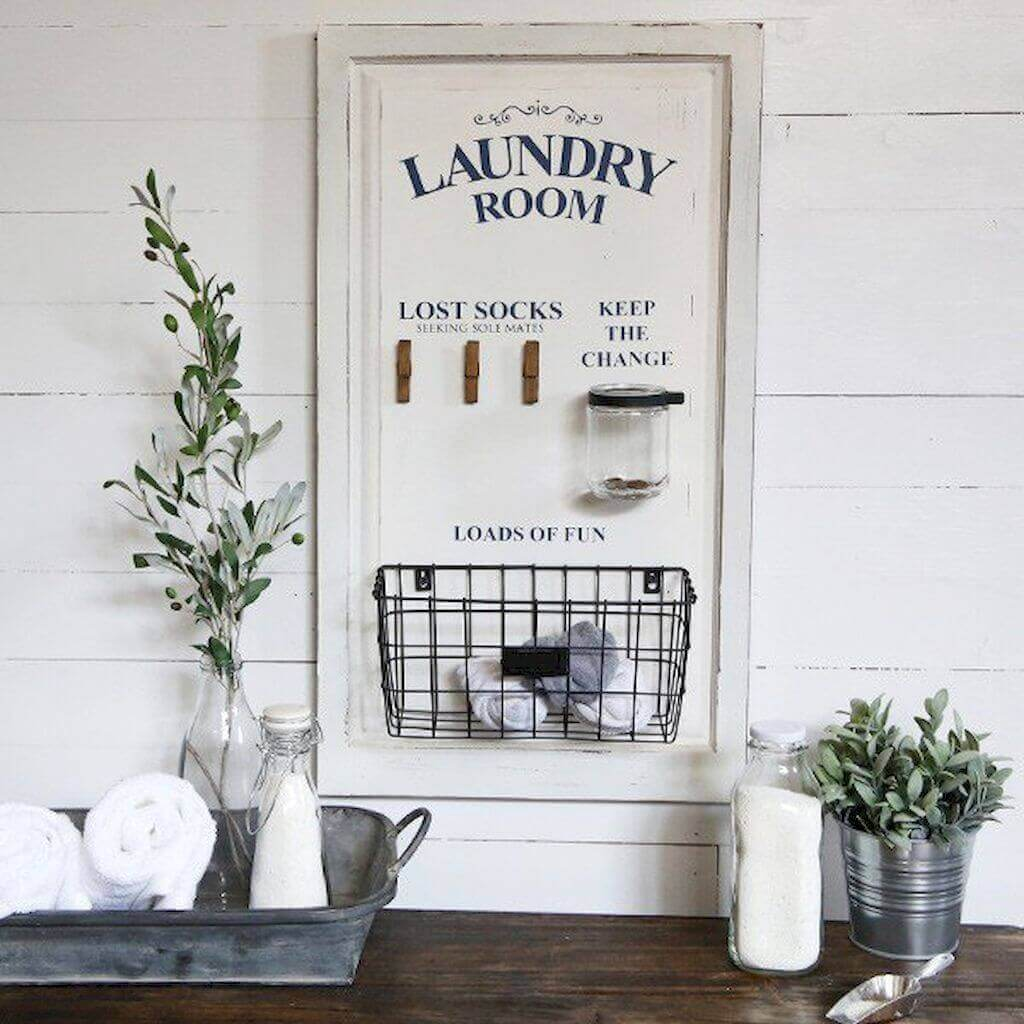 Laundry Room Finders' Keepers Board