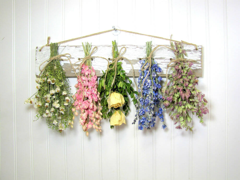 Fairytale Cottage Dried Floral Rack