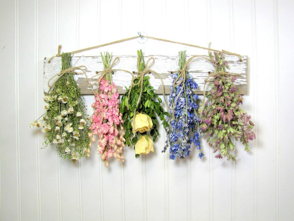 Fairytale Cottage Dried Floral Rack