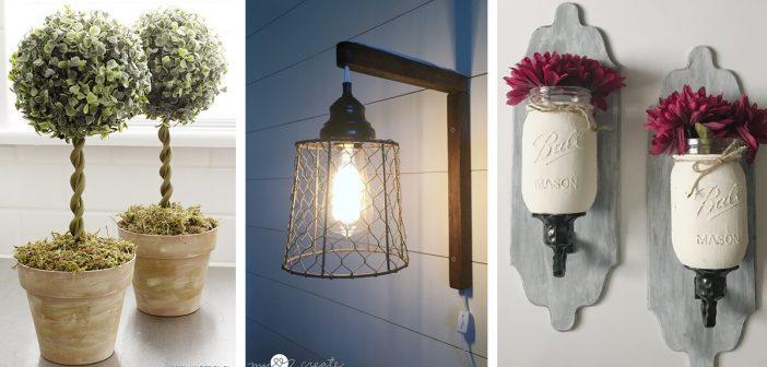 13 Best Diy Dollar Store Farmhouse Decor Ideas And Designs For 2020