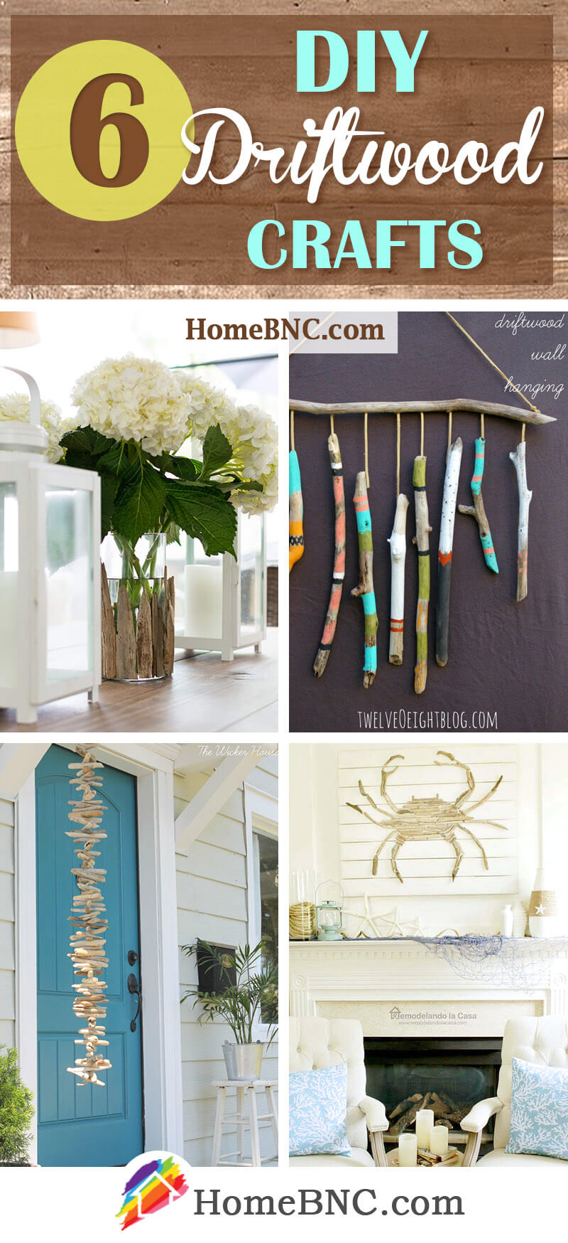 DIY Driftwood Craft Projects