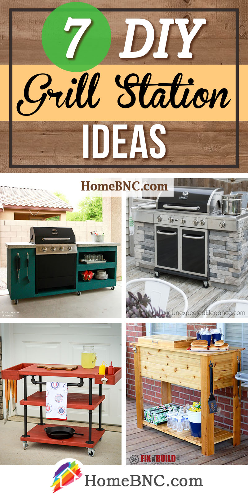 Diy Grill Station Ideas And Projects