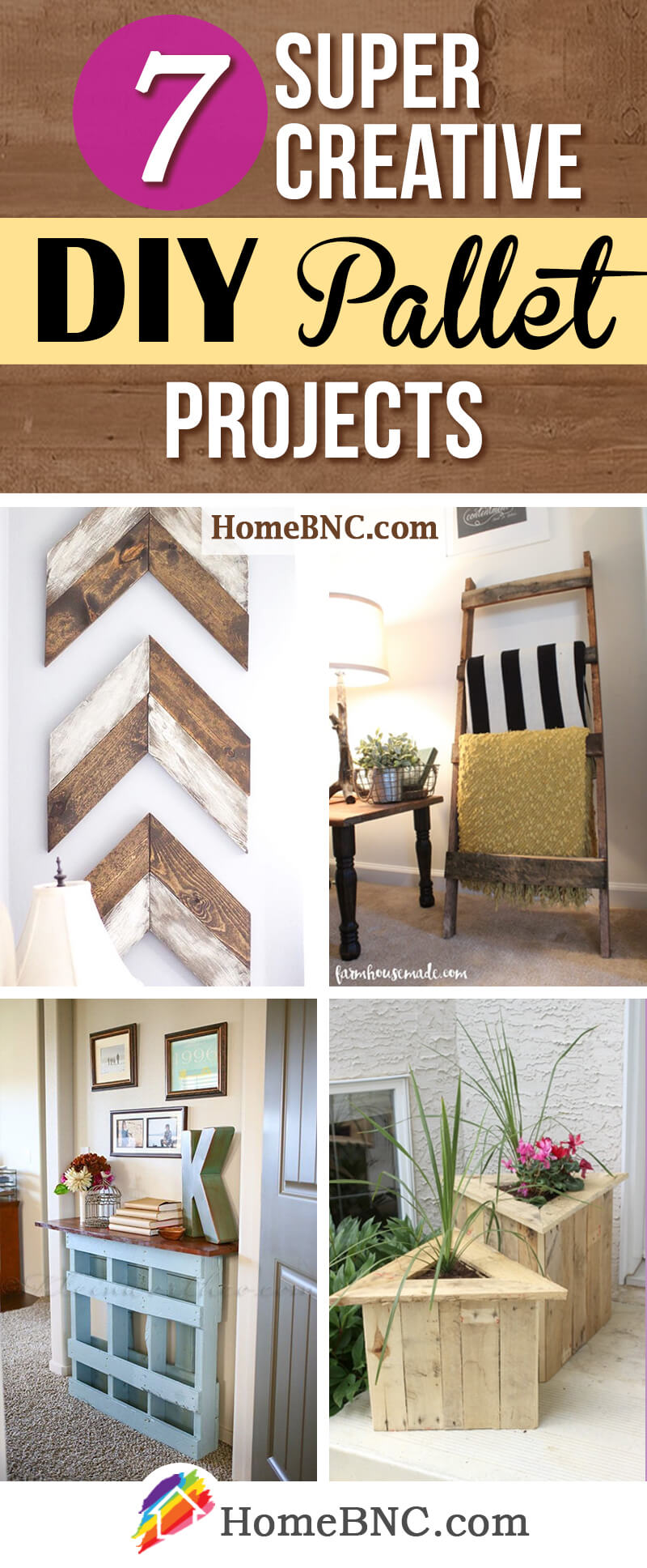7 Budget Friendly DIY Pallet Projects For A Charming Shabby Chic Look