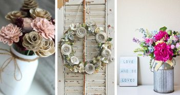 Etsy Farmhouse Flower Decorations