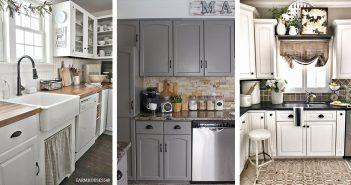 Farmhouse Kitchen Backsplash Designs