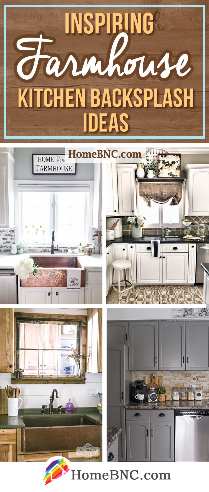 8 Best Farmhouse Kitchen Backsplash Ideas And Designs For 2018