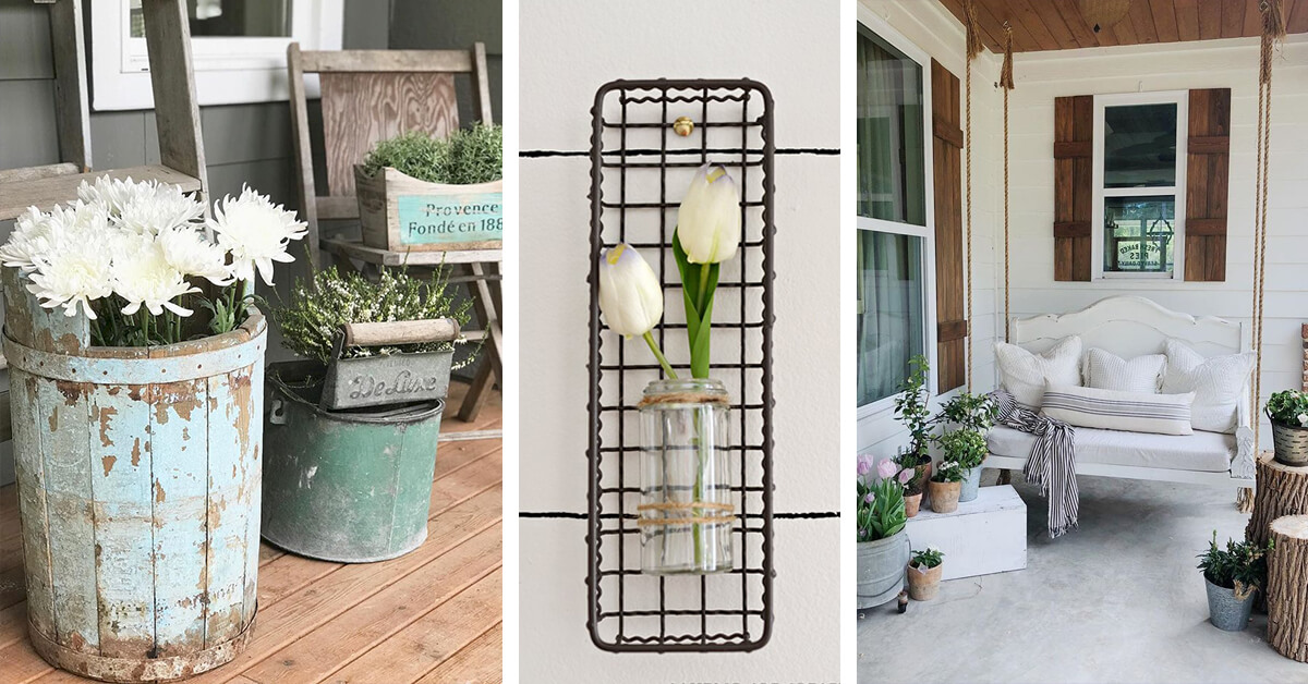 17 Best Farmhouse Outdoor Decor Ideas