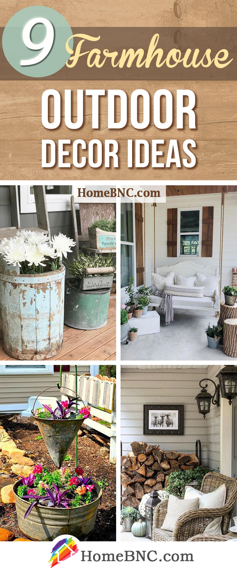 9 Best Farmhouse Outdoor Decor Ideas and Designs for 2018 on Backyard Garden Decor id=91784