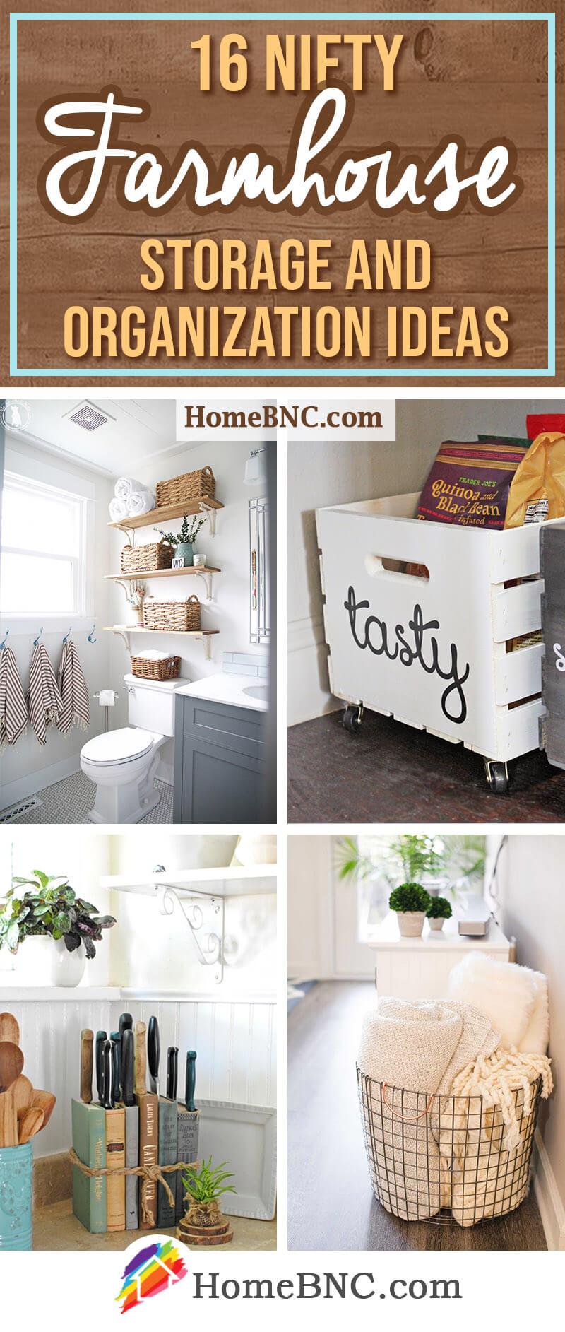 Farmhouse Storage Ideas