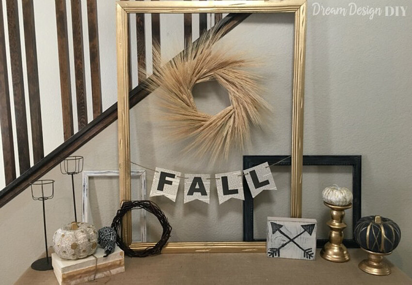 Hand-Lettered Paper Fall Banners