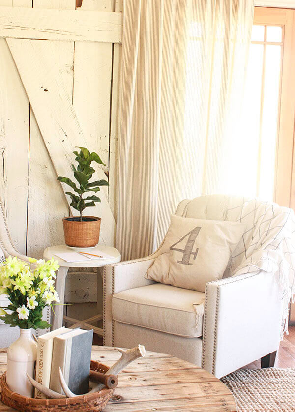 Country Chic With Sheer Textured Warmth