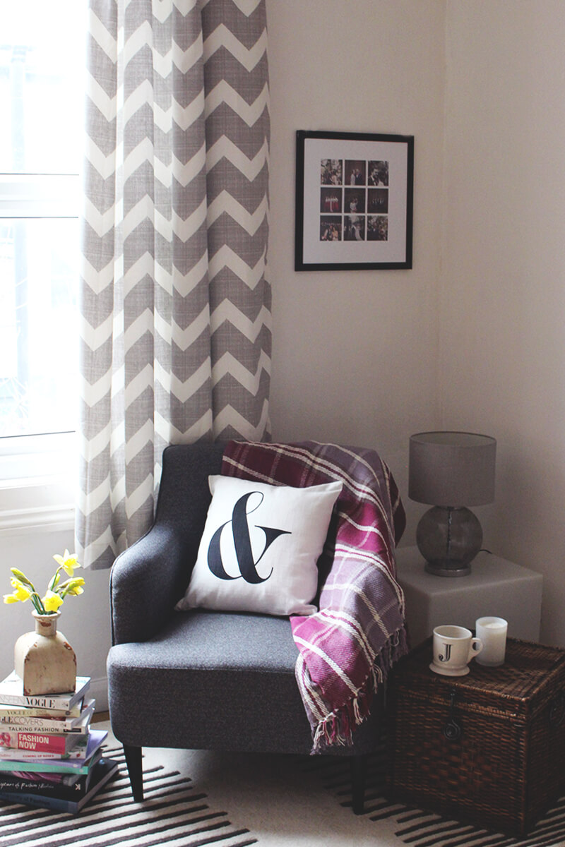 Revving It Up With Two-Toned Chevron