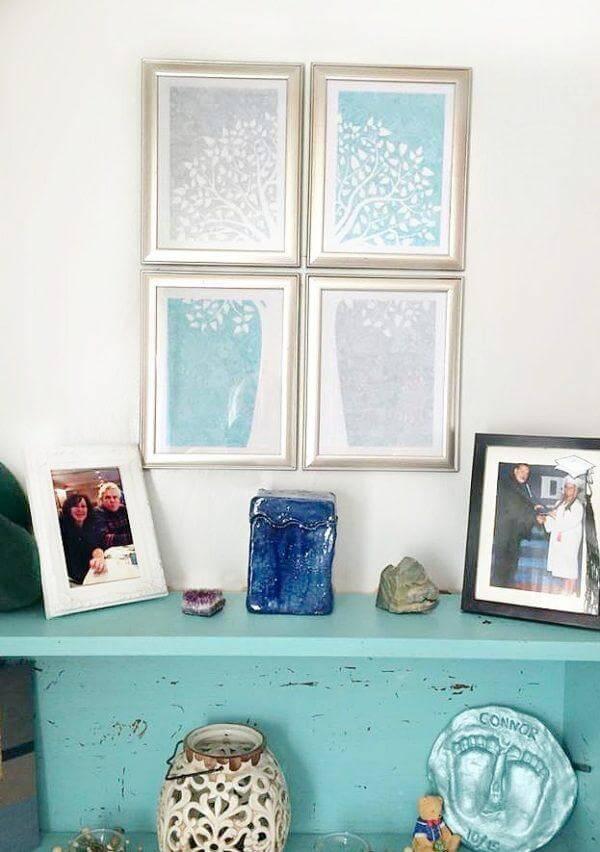 Romantic Multi-Framed DIY Wall Art