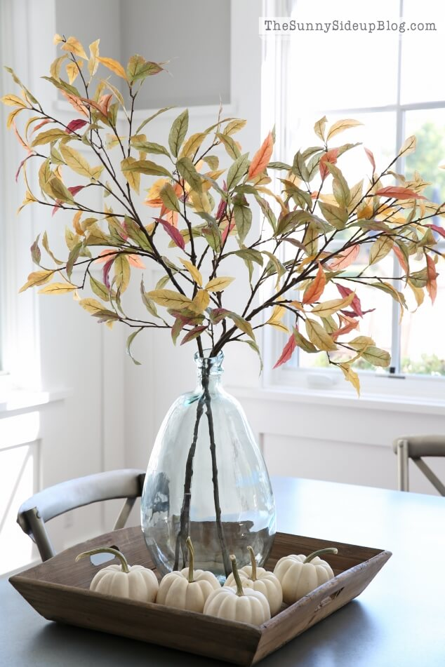 Minimalist Fall Table Centerpieces