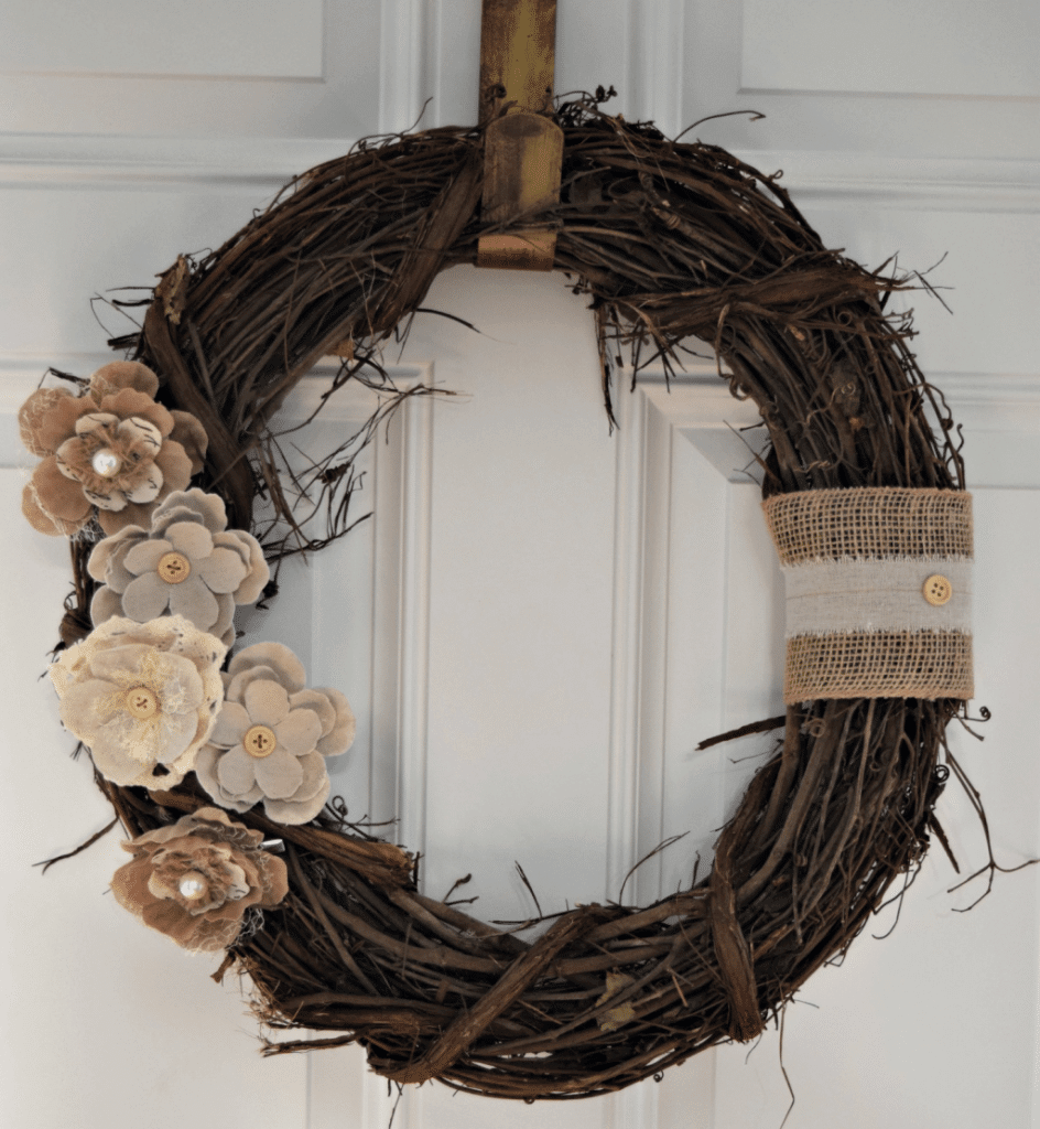 Rustic Rosettes And Burlap Ribbons Unite