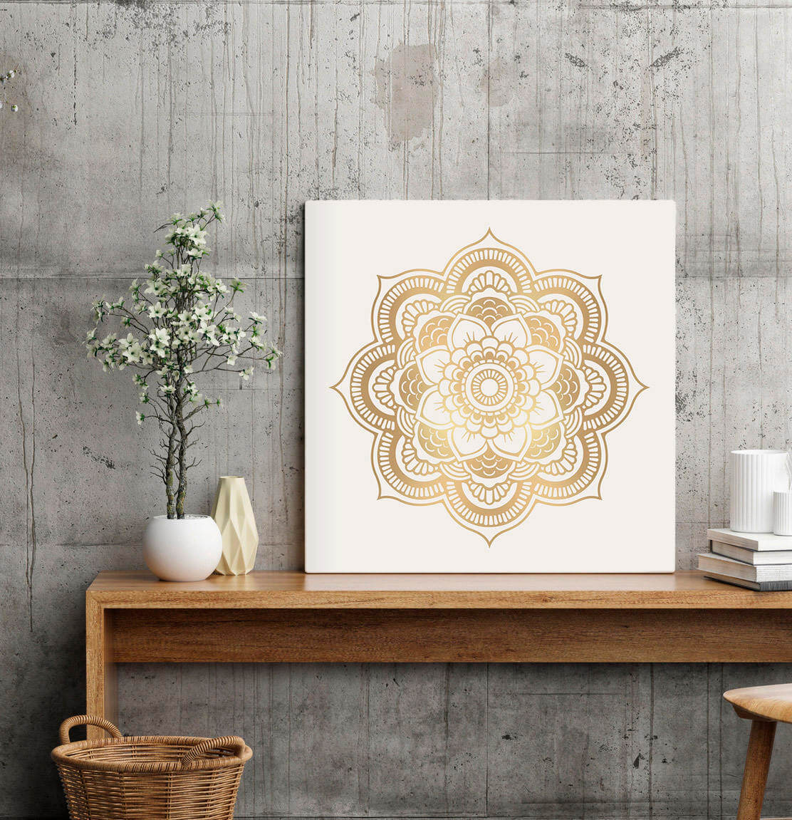 Downloadable Instant Mandala Art