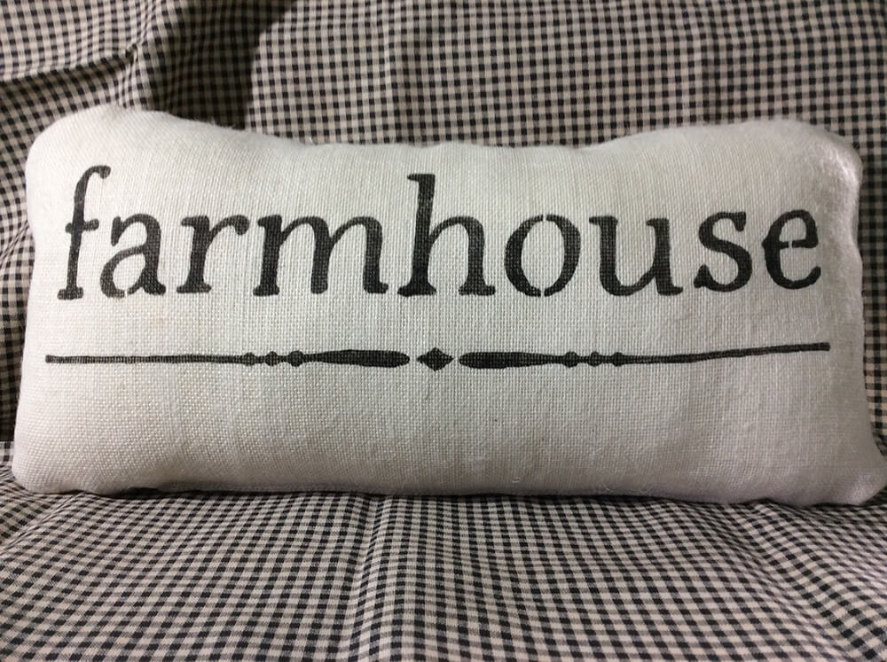 Farmhouse Pillows with a Message