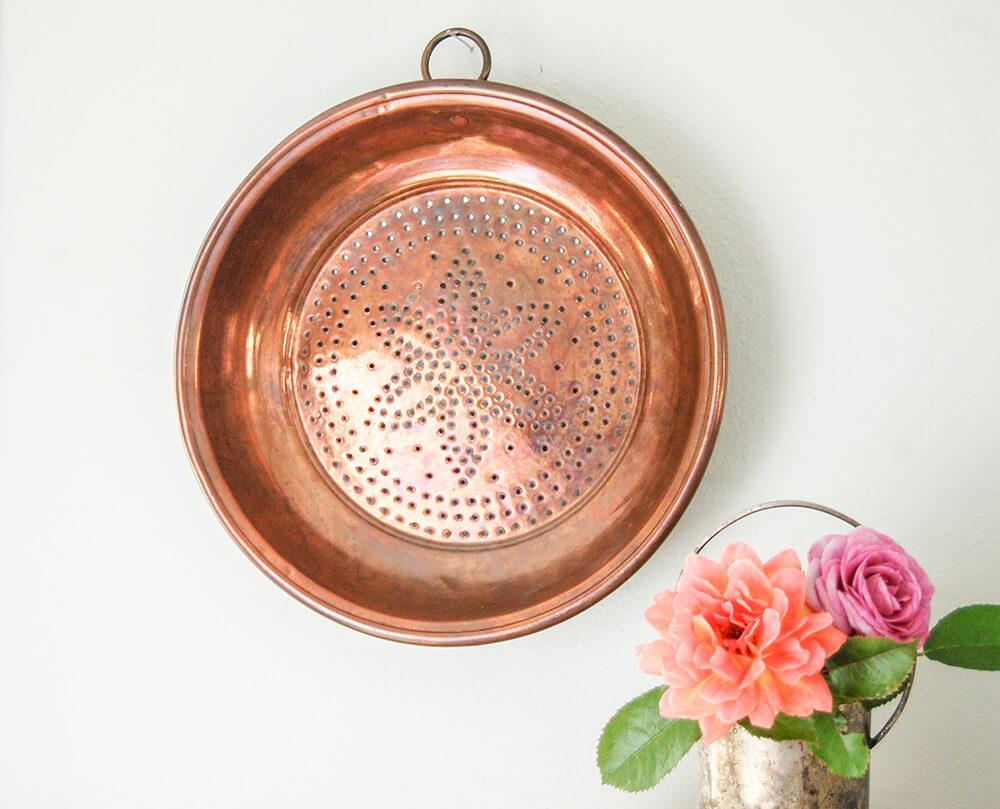 Copper Berry Colander