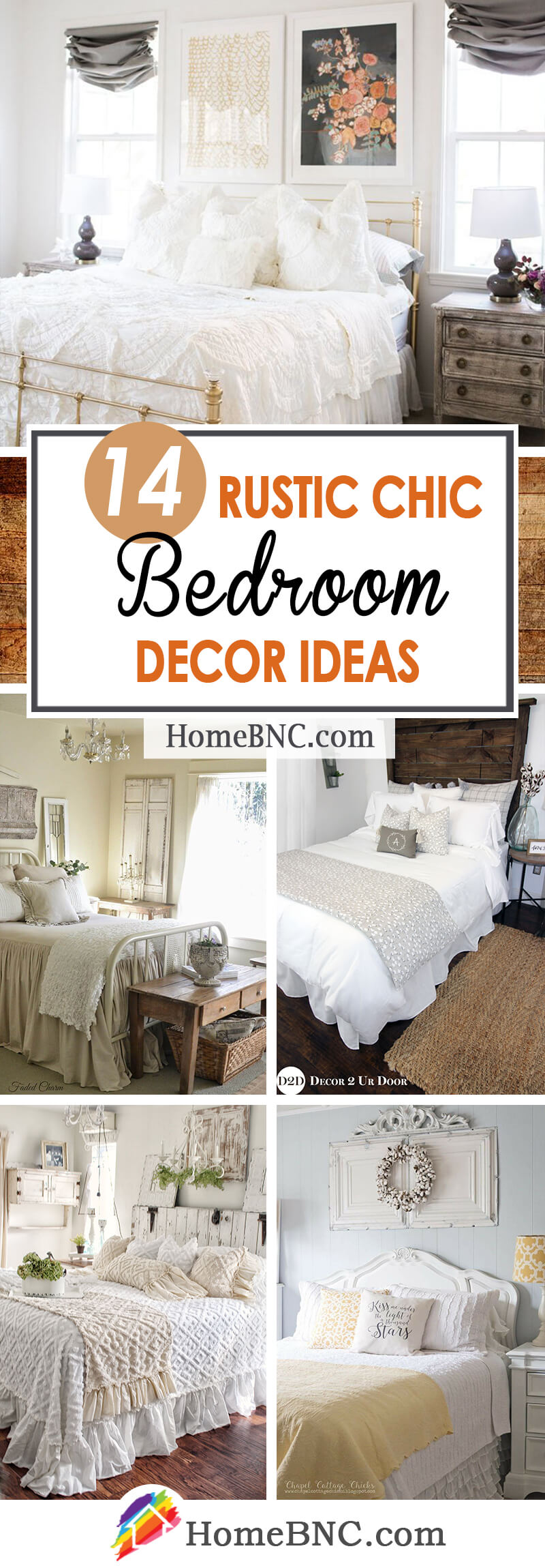 Rustic Chic Bedroom Decoration Ideas