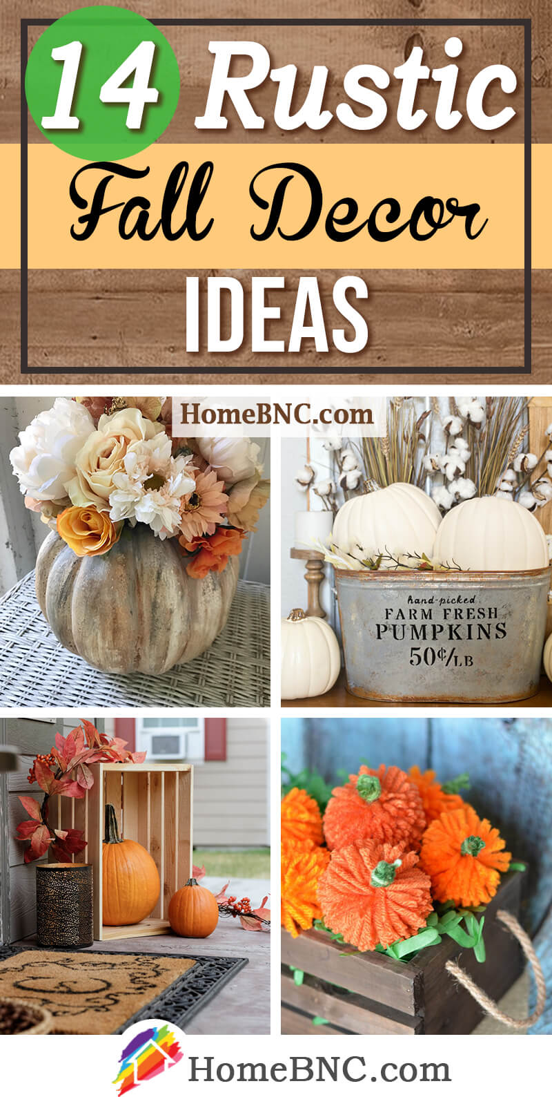 Rustic Fall Decor Design Ideas