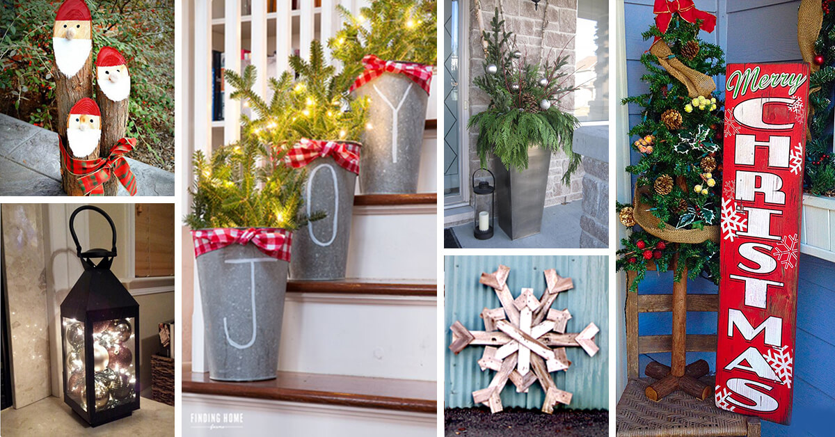 70 Best Christmas Porch Decoration Ideas For 2020