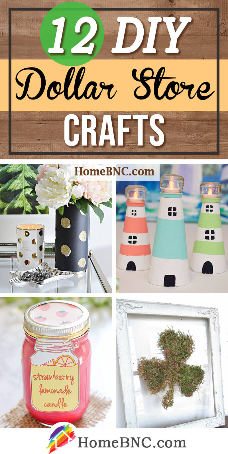 DIY Dollar Store Craft Ideas