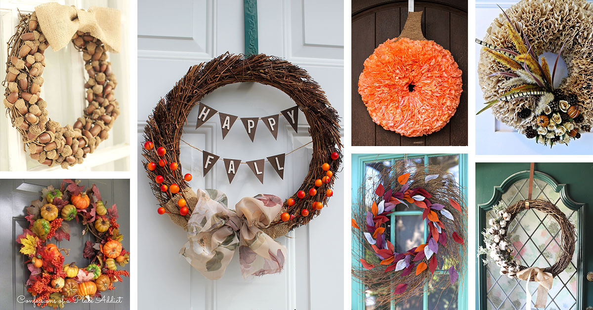 20 Best Diy Fall Wreath Ideas And Designs For 2021