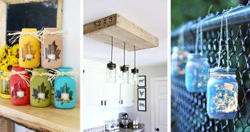 DIY Mason Jar Light Ideas