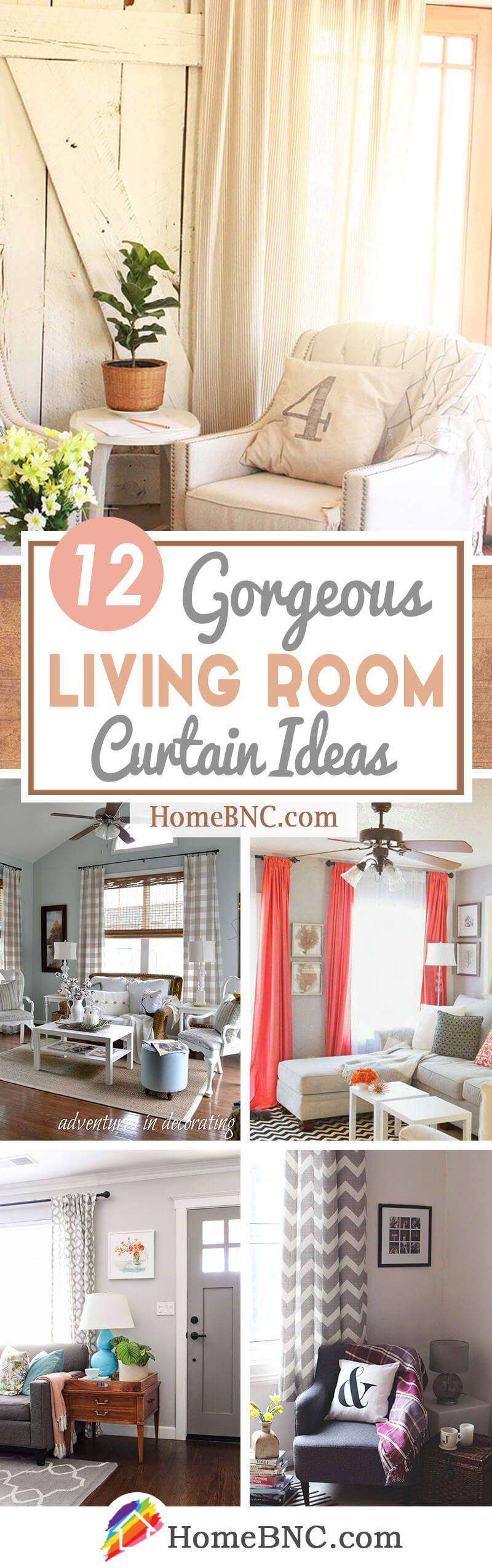 12 Best Living Room Curtain Ideas and Designs for 12
