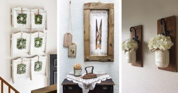 20 Gorgeous Vintage Wall Decor Ideas To Add Old Fashioned Charm To Your Home