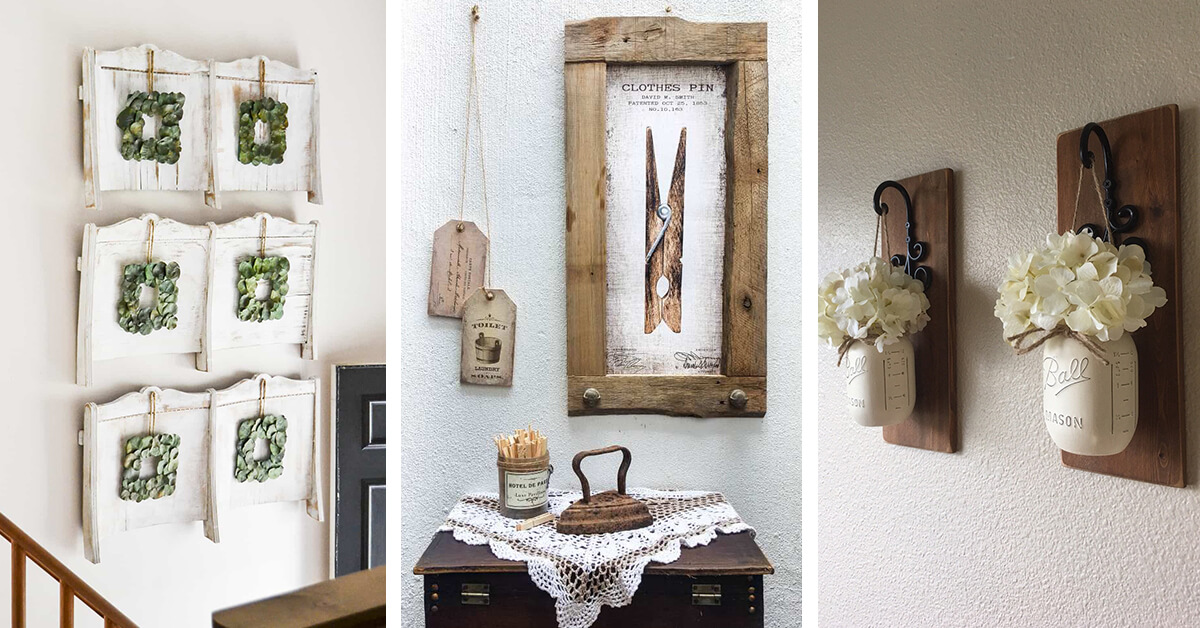 Antique Wall Decor Ideas