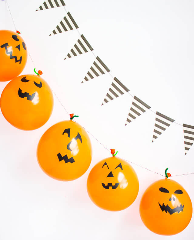 Hang Balloon Jack O' Lantern Buntings