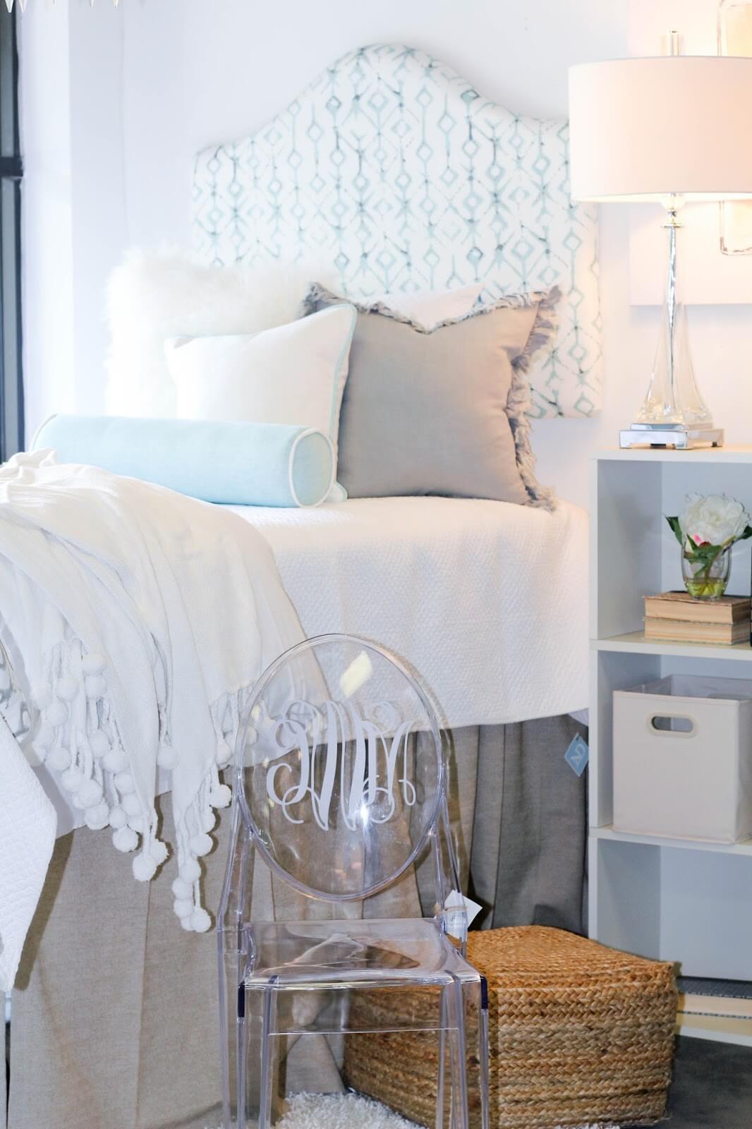 White Blossom Dorm Room Decor
