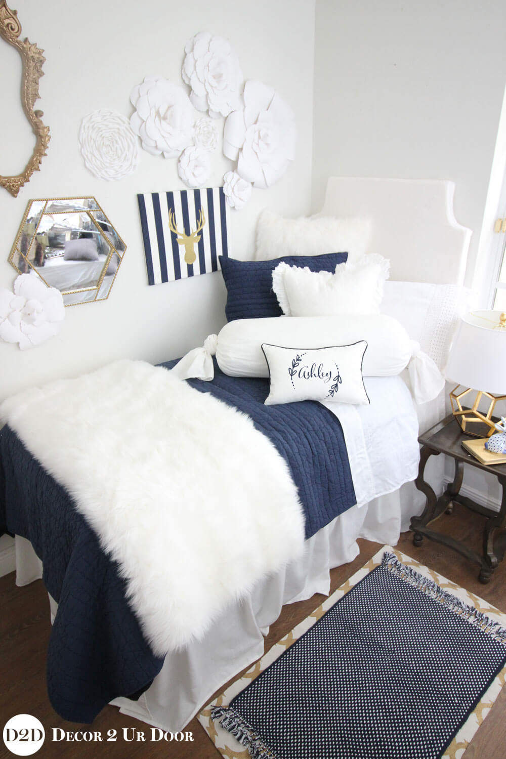 Nautical Themed Luxury Bedroom Decor