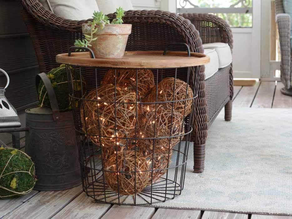 A Basket Full Of Lights