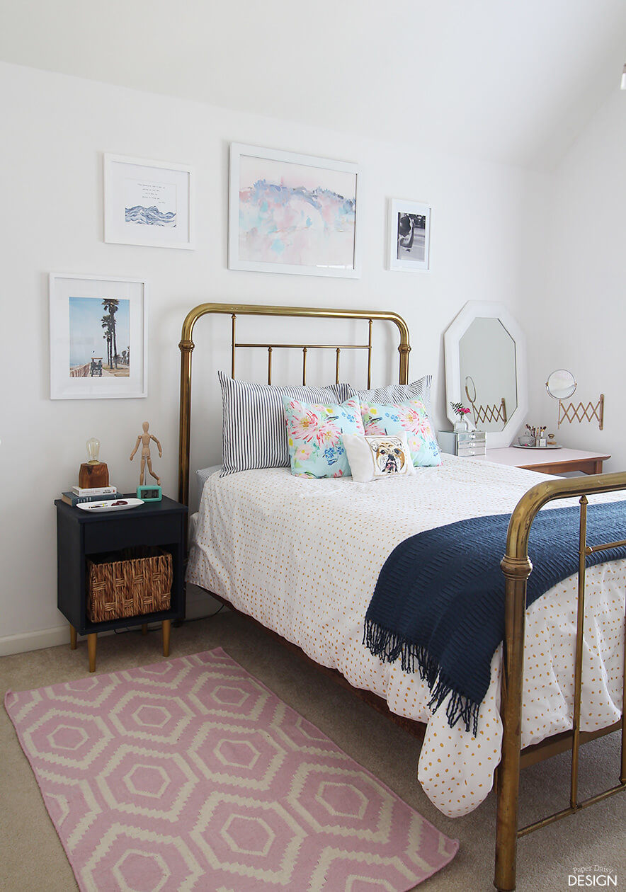 Summer Lovin' Nautical Bedroom Decor