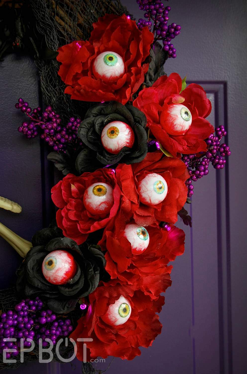 The Flowers Have Eyes Wreath