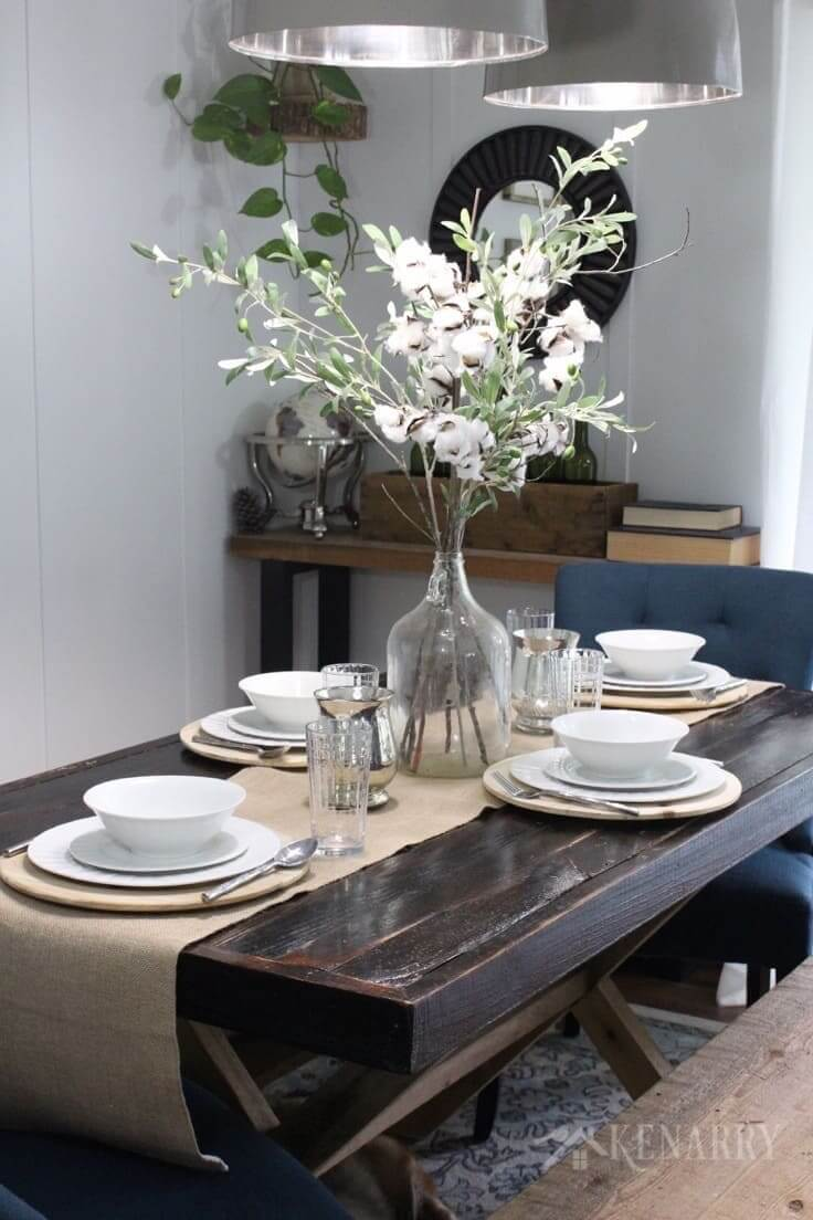 18 Best Farmhouse Style Centerpiece Ideas And Designs For 2021