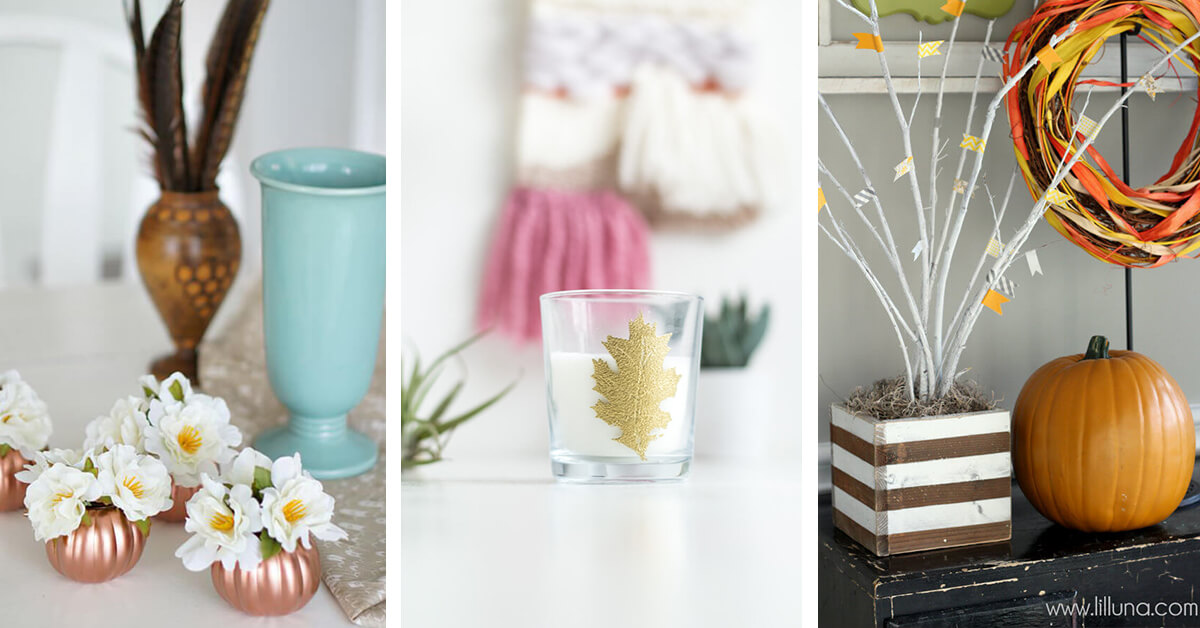 13 Best Cheap DIY Fall Decor Ideas and Designs for 2019